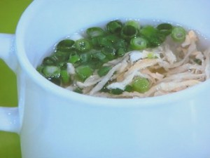 切り干し大根のスープ