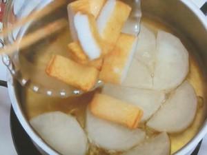 大根とさつま揚げの煮物