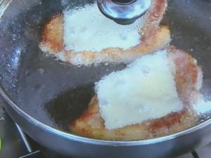 豚肉の香りパン粉焼き