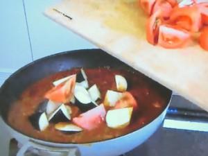 もこみち流 トルコ風 なすとトマトのラムカレー