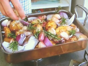 ポテトのスパイシーオーブン焼き
