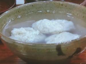 ふんわり蕎麦がき