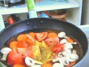 オリジナルニョッキのトマトカレースープ