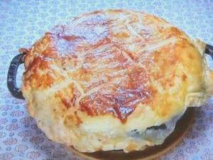 もこみち流 マッシュポテトと牛煮込みのパイ包み