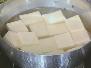 高野豆腐の豆乳鍋