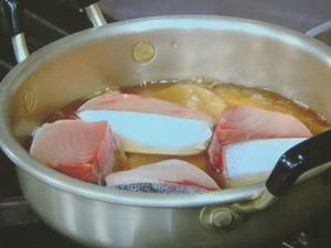 ぶりのサッと煮