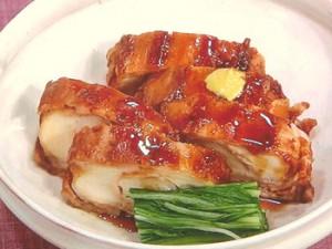 麩と豚バラ肉の角煮風
