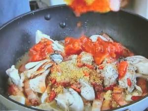もこみち流 カキときのこのトマトパスタ