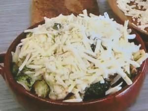 もこみち流 カリフラワーとブロッコリーとチーズのオーブン焼き