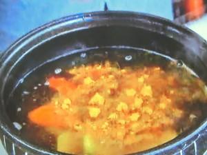 もこみち流 鶏の団子入りカレー鍋
