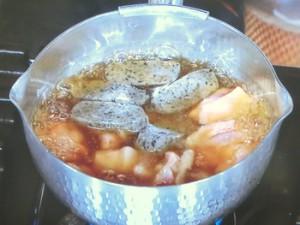 菜の花と鶏肉の治部煮