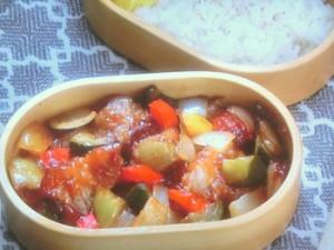 ご飯がすすむ酢豚風弁当