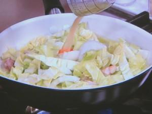 春野菜と鶏こまのチーズ焼き