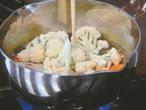 春野菜のクリームミートボール