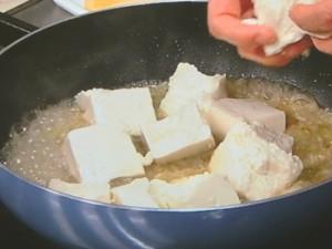 中国風あさり豆腐
