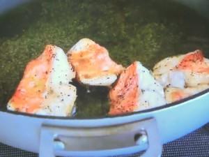 もこみち流 金目鯛とサボイキャベツのオイルパスタ