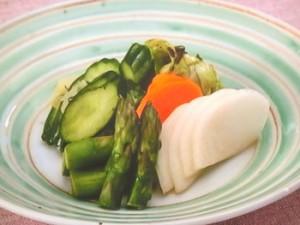 春野菜の浅漬け