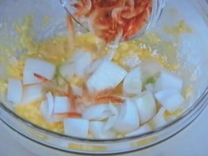 かき揚げ丼(新玉ねぎと桜えび)