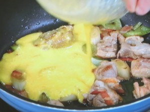 濃厚カルボナーラ丼