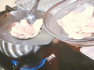鶏むね肉のゆで南蛮漬け