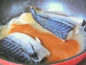 塩さばの味噌煮