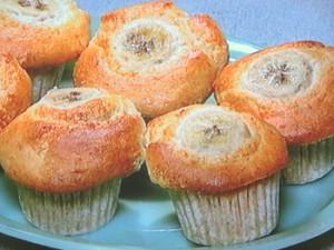 米粉のバナナマフィン