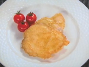 鶏のカレーピカタ
