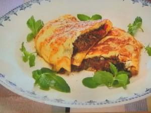 もこみち流 牛ひき肉と野菜のトルコ風オムレツ