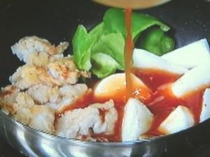 クイック長芋酢豚
