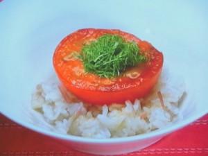 トマトステーキ丼