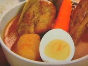 スペアリブのスープカレー
