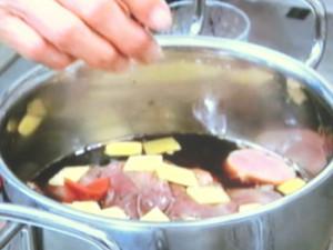 鶏レバーの梅風味煮