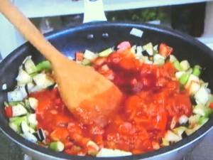 もこみち流 夏野菜のトマトパスタ