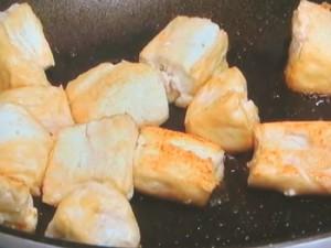 もやしと豆腐のチャンプルー