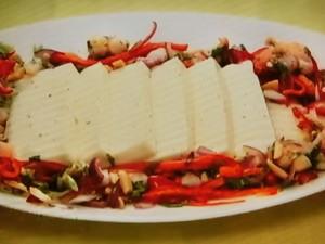 もこみち流 タイ風豆腐サラダ~タイ風冷ややっこ