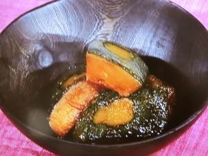 かぼちゃの甘露煮