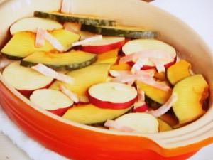 かぼちゃとさつま芋のグラタン