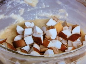 豆腐のとろろ蒸し