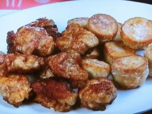豚肉と里芋の竜田焼き