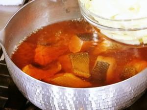さけと白菜の煮物