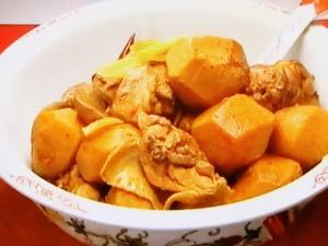 もこみち流 鶏肉と里いものホワジャオ煮