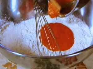 柿のホットケーキ