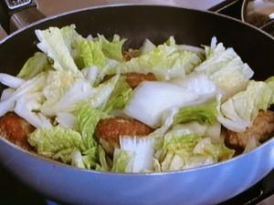 豚だんごと白菜のとろとろ煮