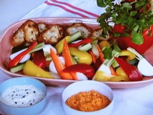 野菜はやさしい!ディップ2種
