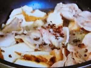 もこみち流 豚肉と厚揚げの炒め物