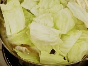豚バラde超簡単に絶品本格もつ鍋