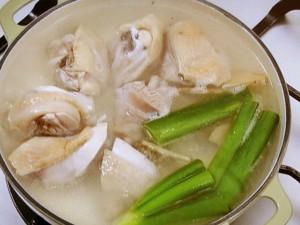 鶏の水炊き