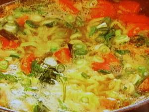根菜と豚バラ肉の和風ポトフ