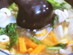 和田家の定番のりたっぷり雑煮