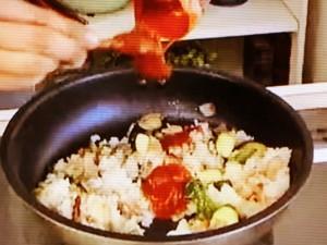 もこみち流 野菜のオムライス